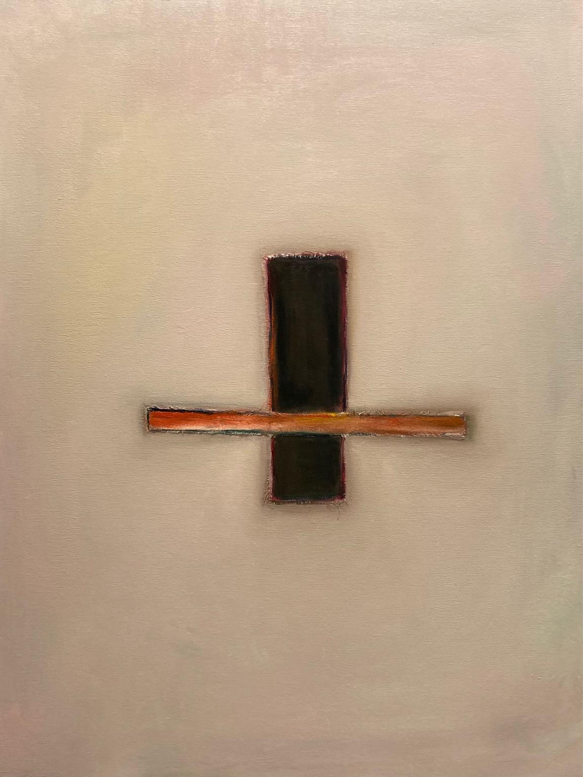 Silent Sign (1), Öl auf Leinwand, 80 x 60 cm, 2020