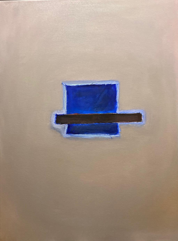 Silent Sign (2), Öl auf Leinwand, 80 x 60 cm, 2020