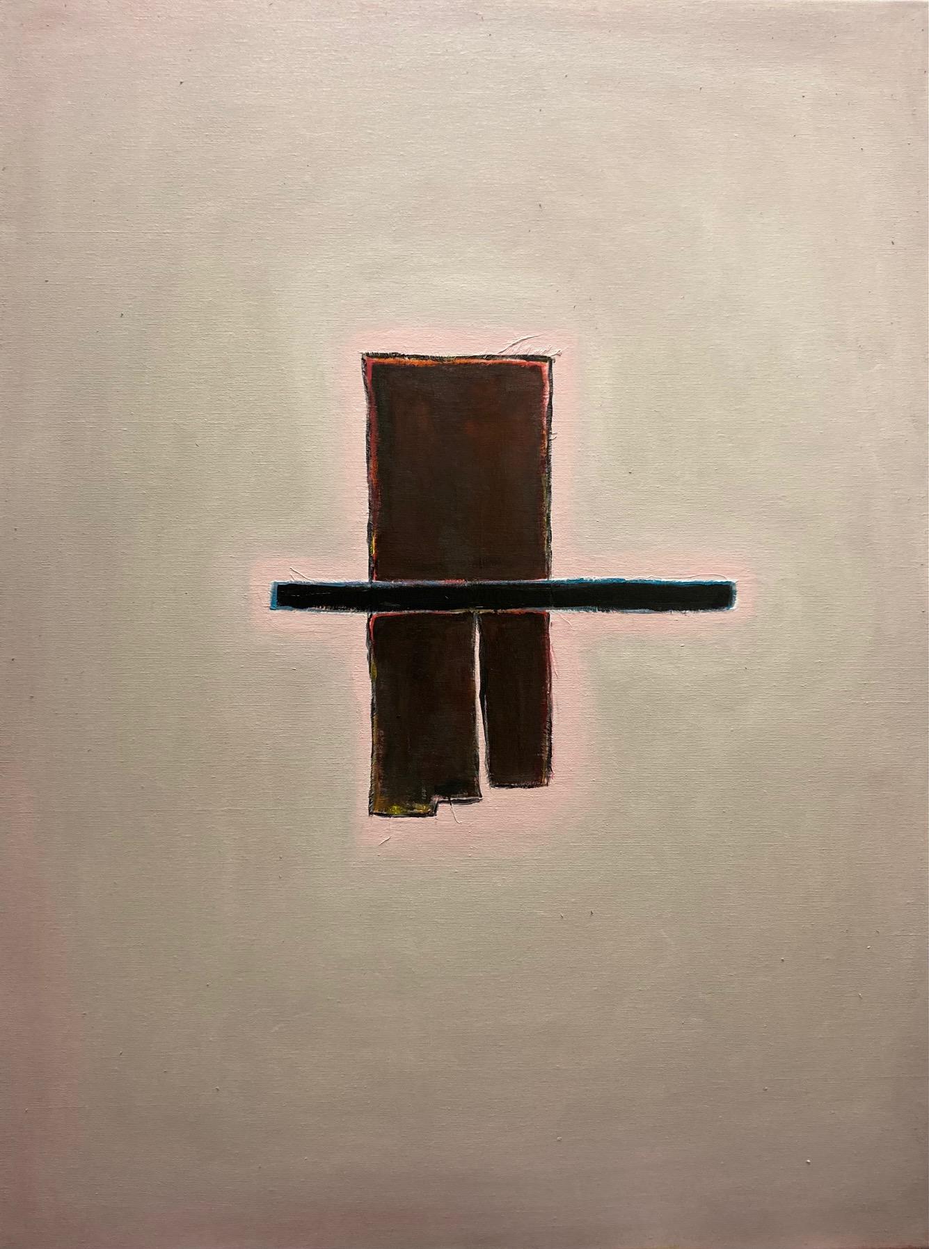 Silent Sign (3), Öl auf Leinwand, 80 x 60 cm, 2020