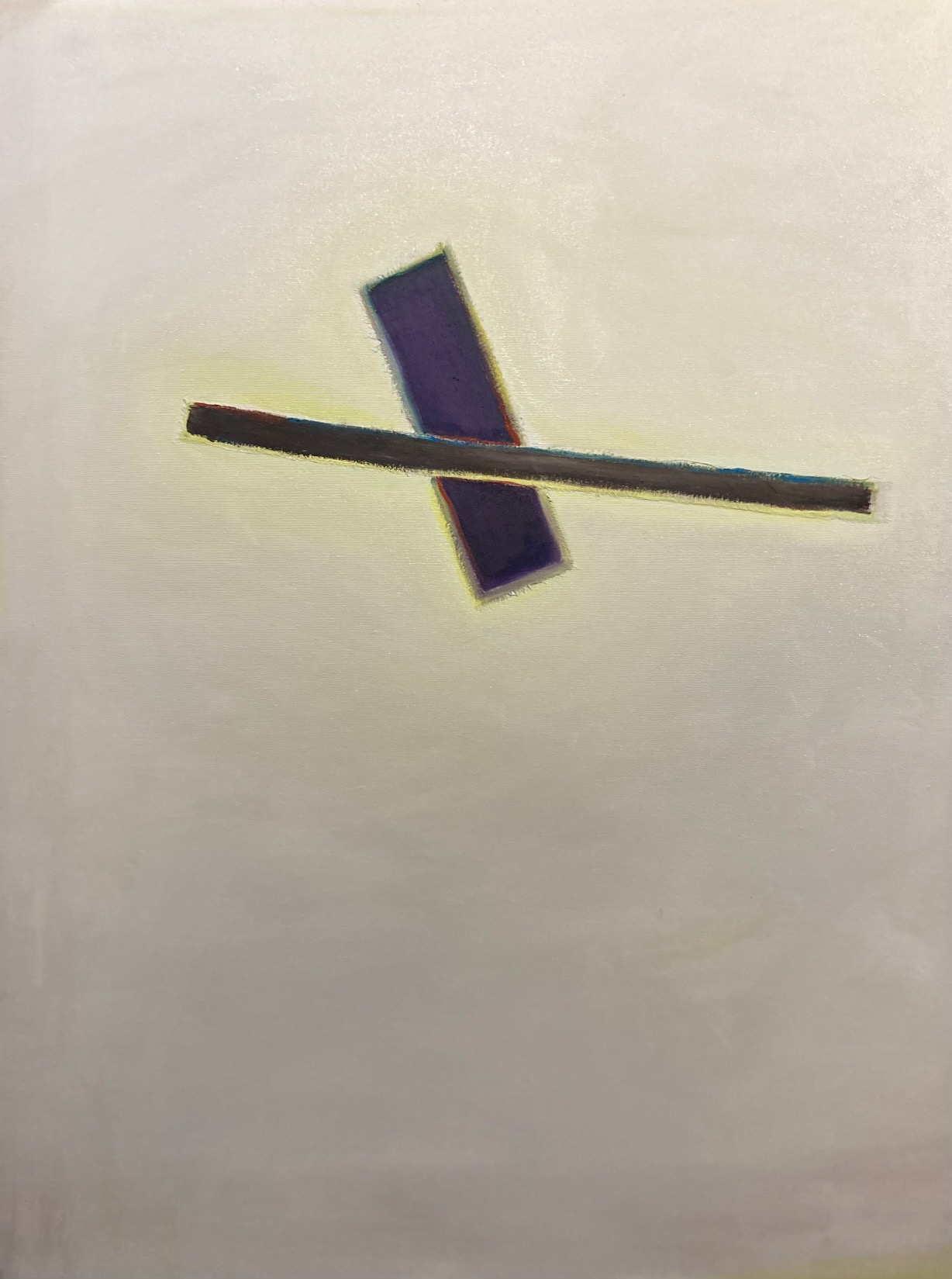 Silent Sign (9), Öl auf Leinwand, 80 x 60 cm, 2020